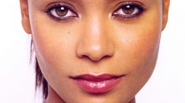 Thandie Newton HD face wallpaper