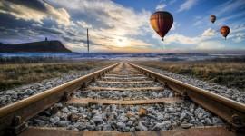 4k Railroad Best Wallpaper