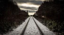4k Railroad Desktop Wallpaper
