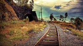 4k Railroad Picture