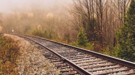4k Railroad Wallpaper For The Smartphone