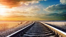 4k Railroad Wallpaper Free