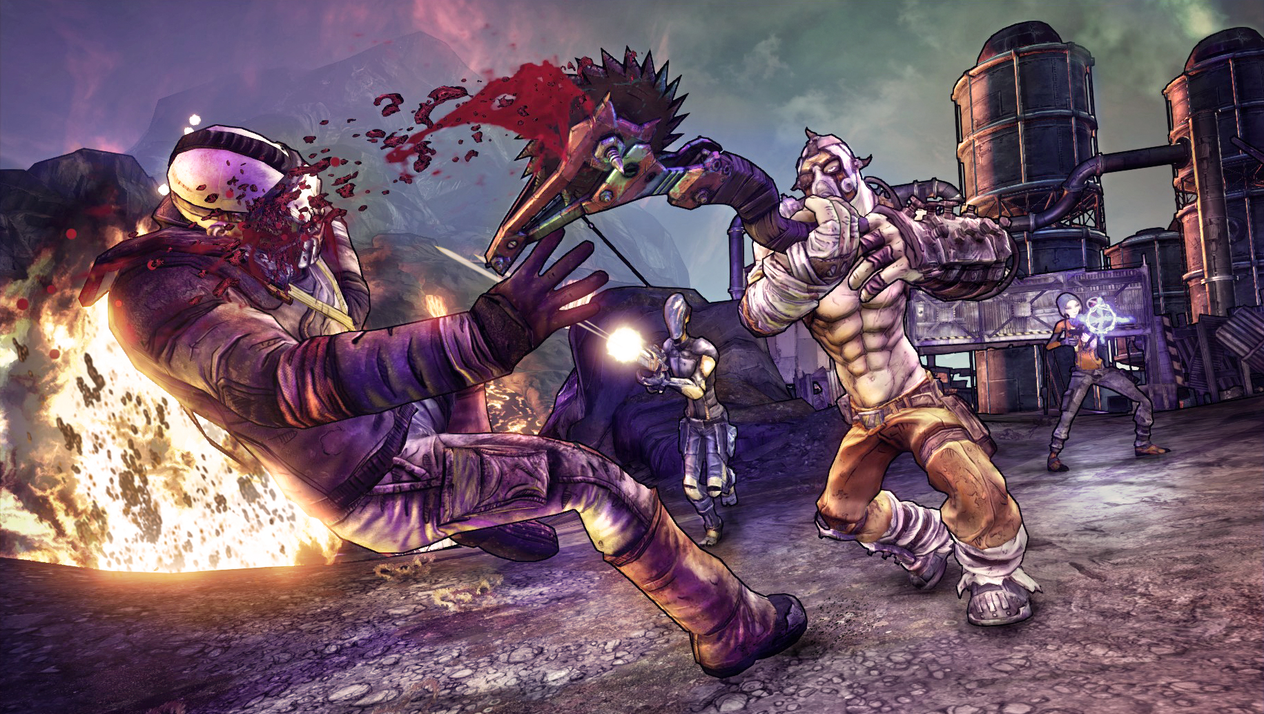 Borderlands Wallpaper High Resolution Styles Wallpapers