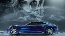 Fantasy Car Desktop Wallpaper HQ