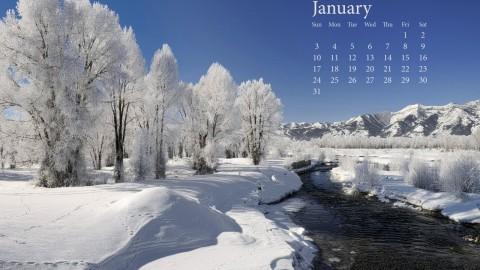 January wallpapers high quality