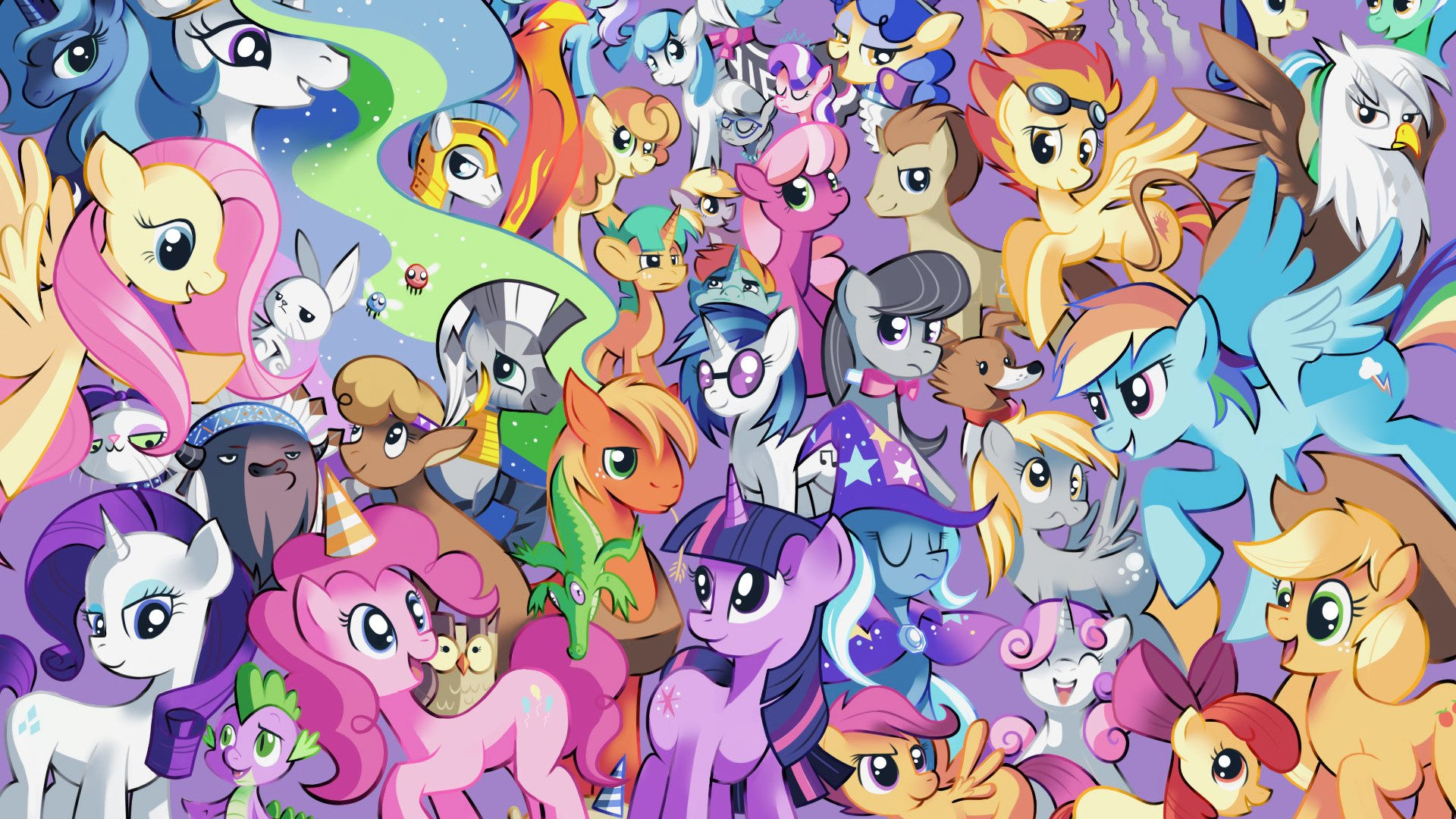 My Little Pony Wall Paper: My Little Pony Wallpapers High Quality