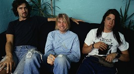 Nirvana Portrait at the Warfield Theater