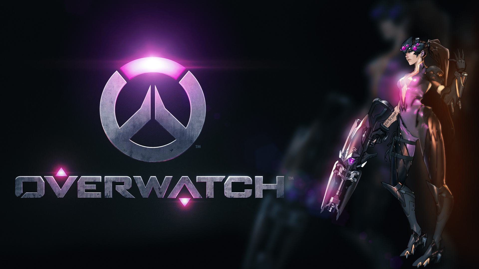 widowmaker overwatch wallpaper 1920x1080 - photo #25
