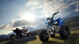 Quad Bike Desktop Wallpaper