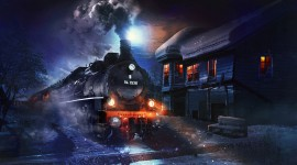 Train Desktop Wallpaper