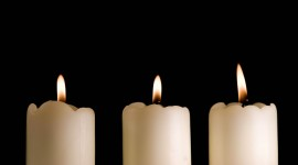 4K Candles Photo Free