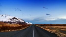 4K Road High Quality Wallpaper