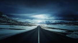 4K Road Wallpaper High Definition