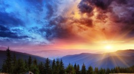 4K Sunrise Desktop Wallpaper For PC