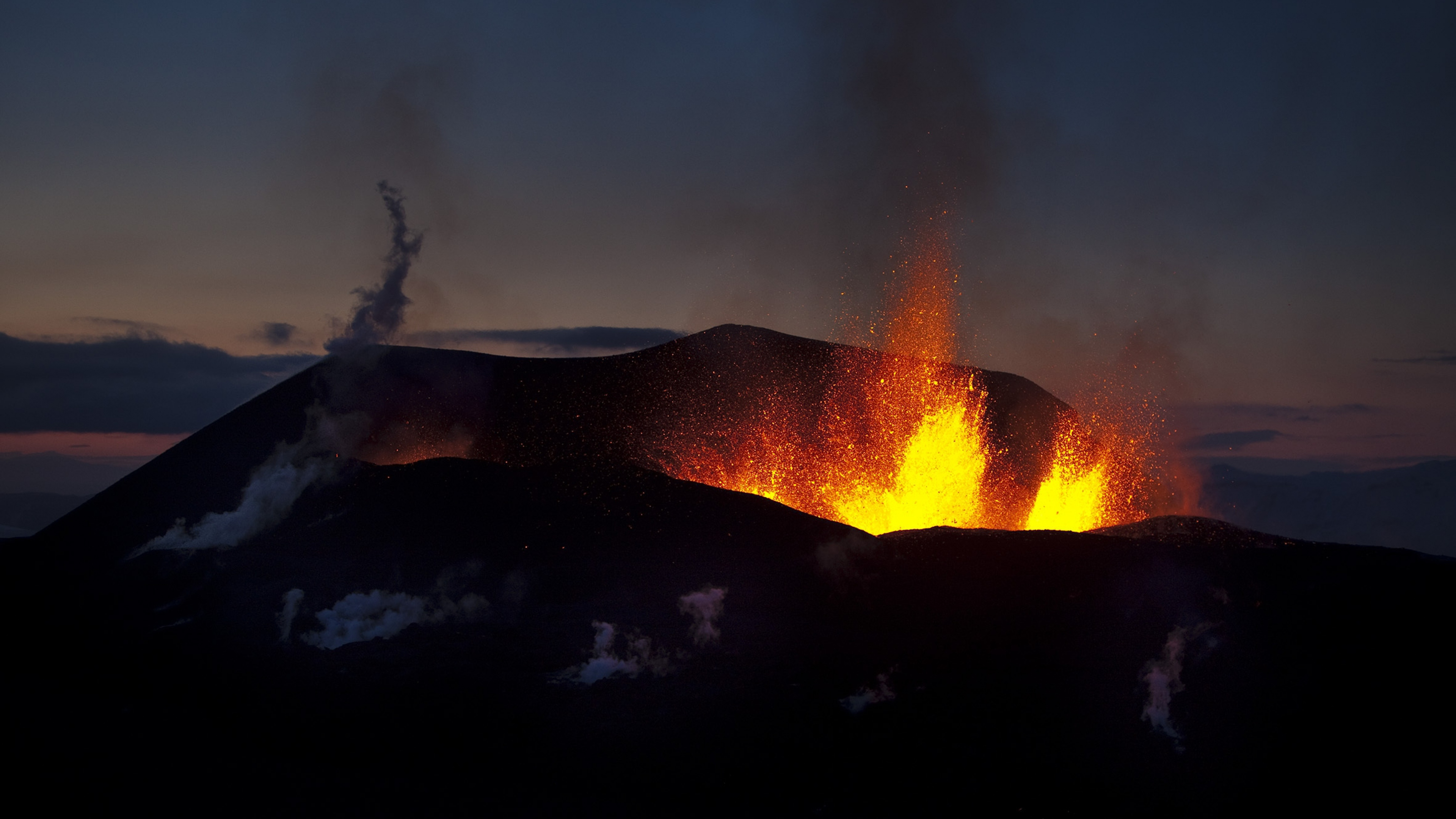 4K Volcanoes Wallpapers High Quality  Download Free