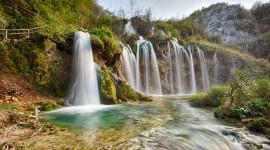 4K Waterfall High Quality Wallpaper