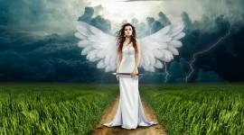 4k Angels Wallpaper Download Free