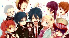 Ao no Exorcist Photo