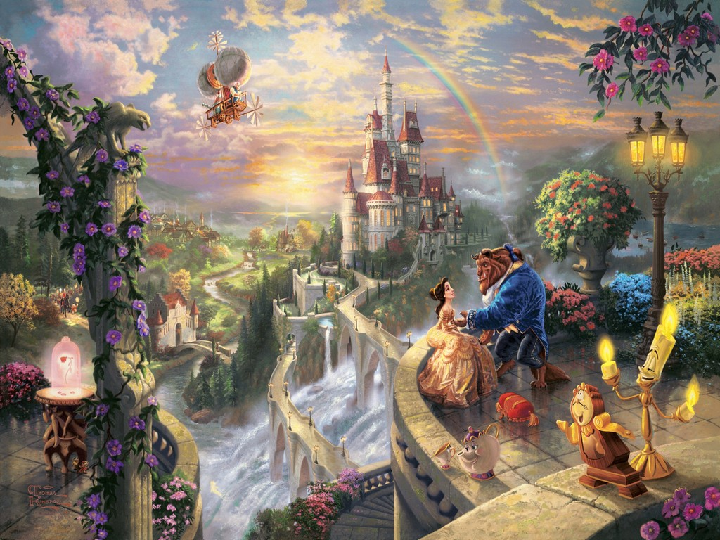 Beauty and the Beast wallpapers HD