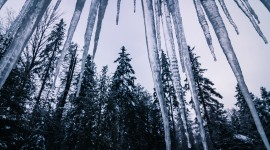 Icicles Wallpaper 1080p