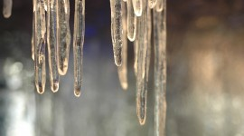 Icicles Wallpaper For PC