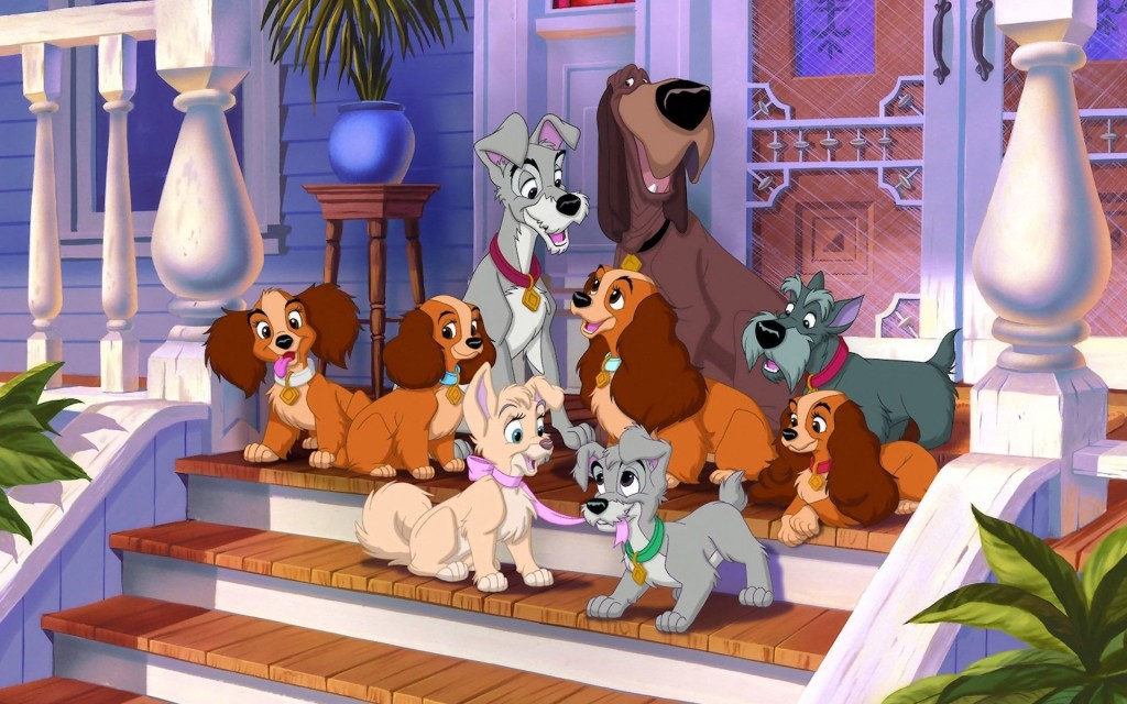 Lady and the Tramp wallpapers HD