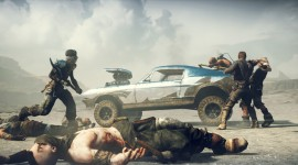 Mad Max Game Desktop Wallpaper HD