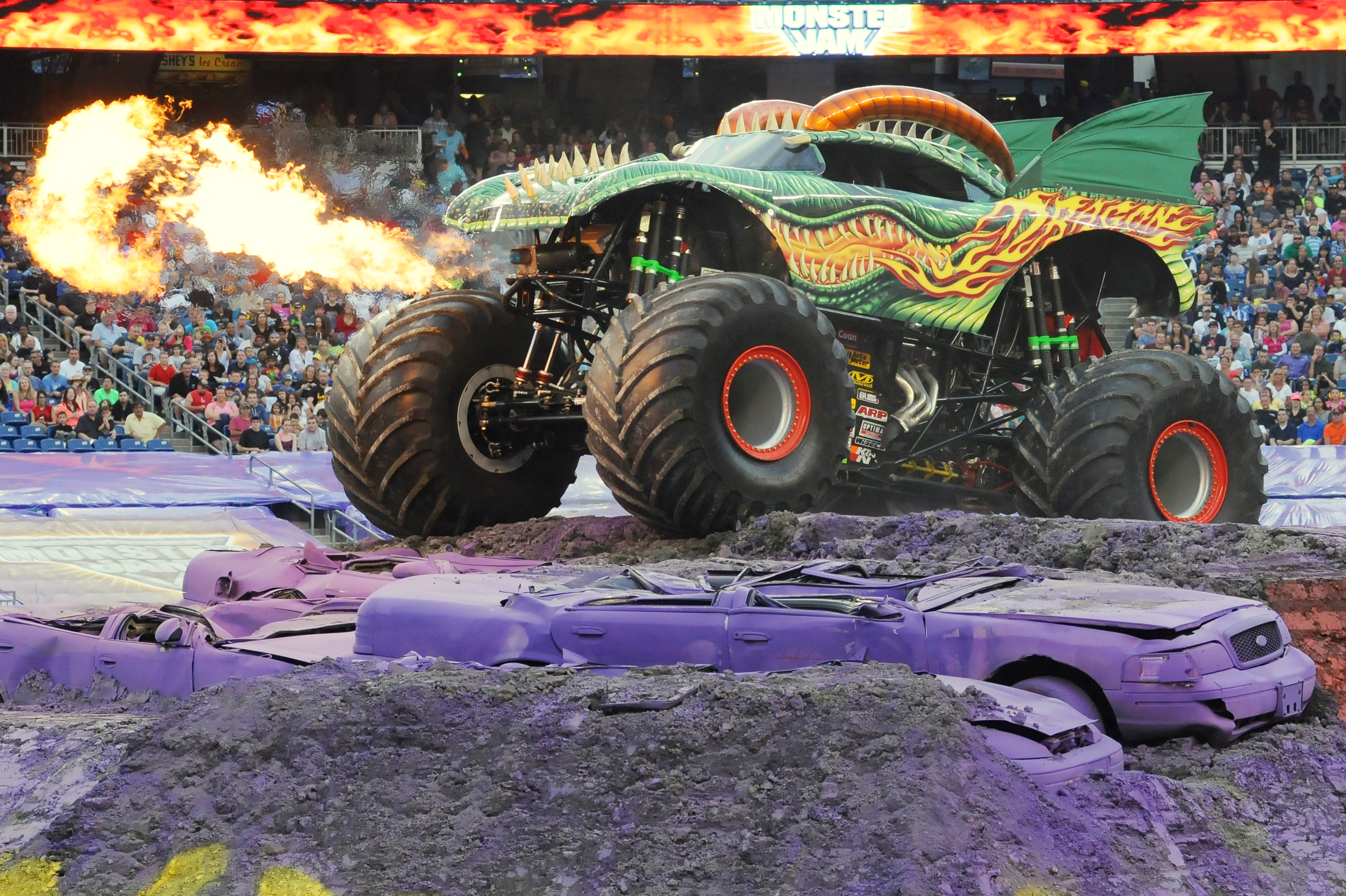 monster jam wallpapers high quality download free