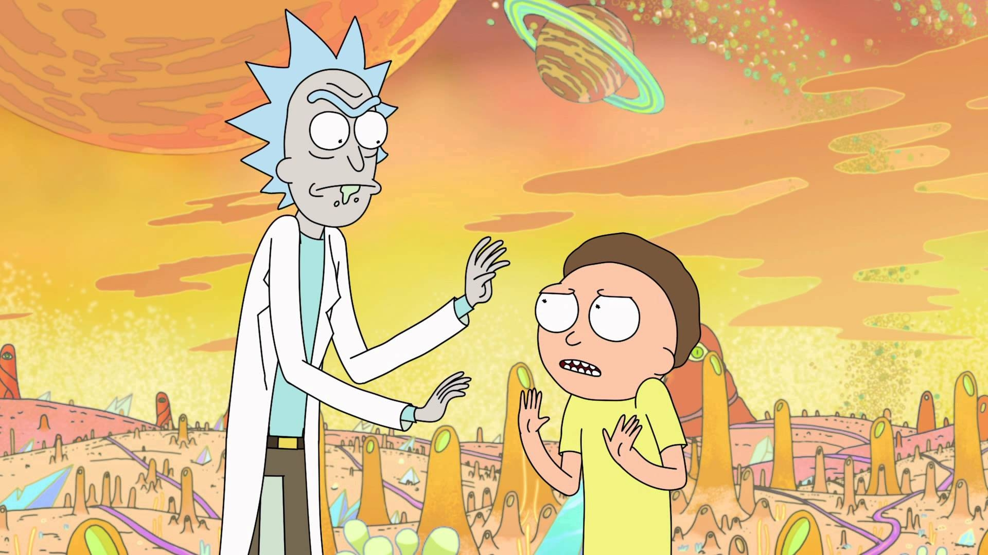Rick and morty wallpapers high quality download free - Rick and morty download ...