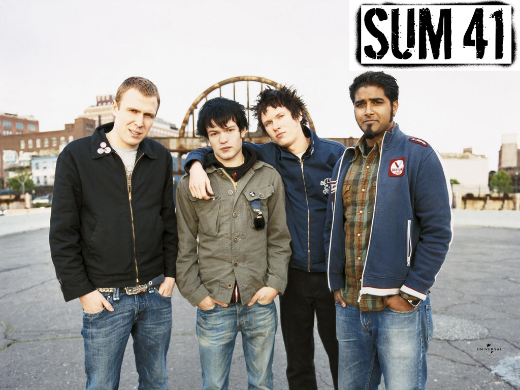 Sum 41 Wallpapers High Quality Download Free