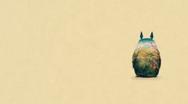 Totoro Desktop Wallpaper For PC