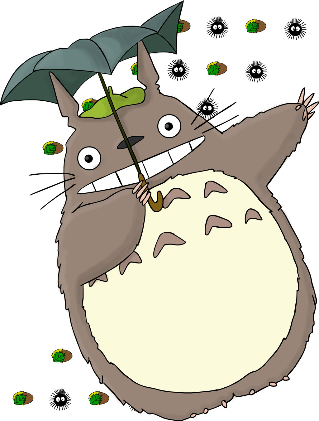 Totoro wallpapers high quality download free - Totoro wallpaper iphone ...