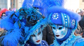 4K Carnival Mask Photo Download