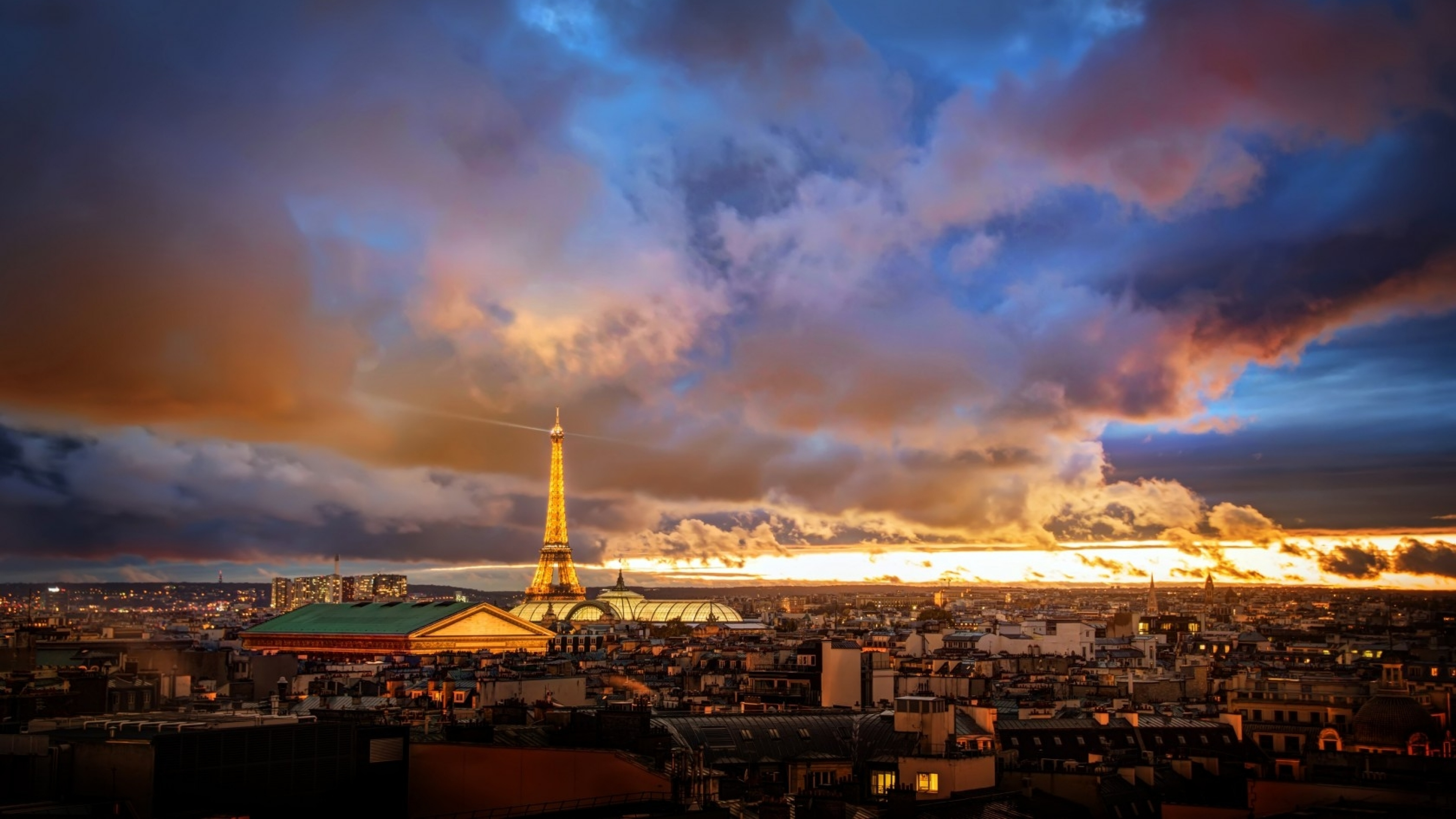 4k Wallpaper: 4K Eiffel Tower Wallpapers High Quality