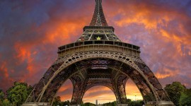 4K Eiffel Tower Wallpaper Download Free