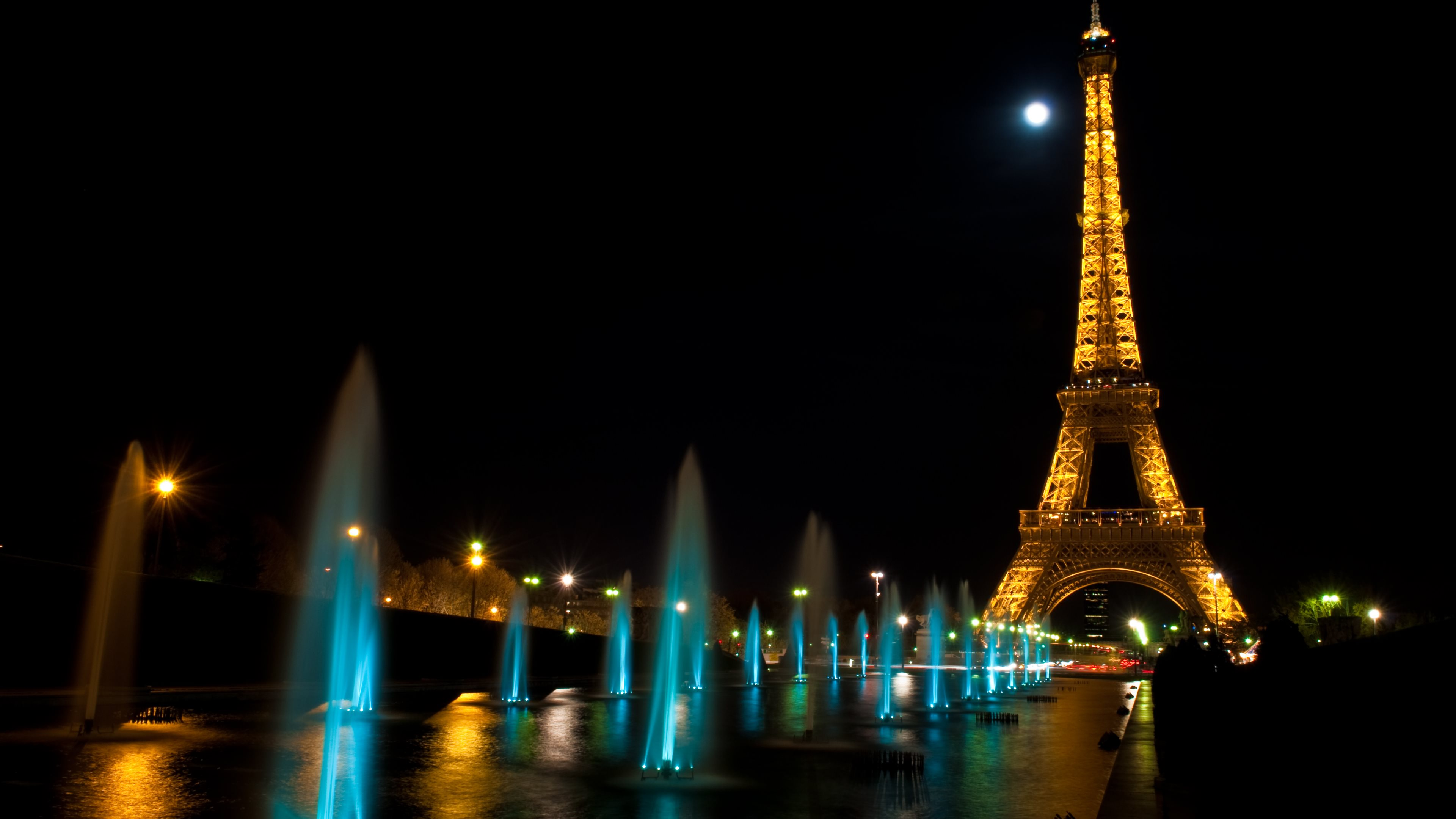 4k Eiffel Tower Wallpapers High Quality Download Free