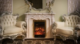 4K Fireplaces Photo Download