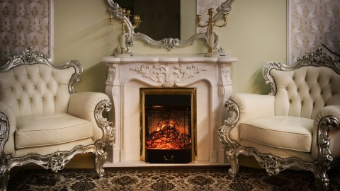 4K Fireplaces wallpapers high quality