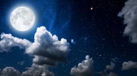 4K Moon Photo