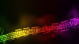4K Musical Notes Image#2