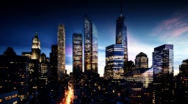 4K Night City Photo Download