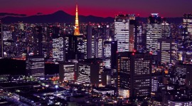 4K Night City Photo Free