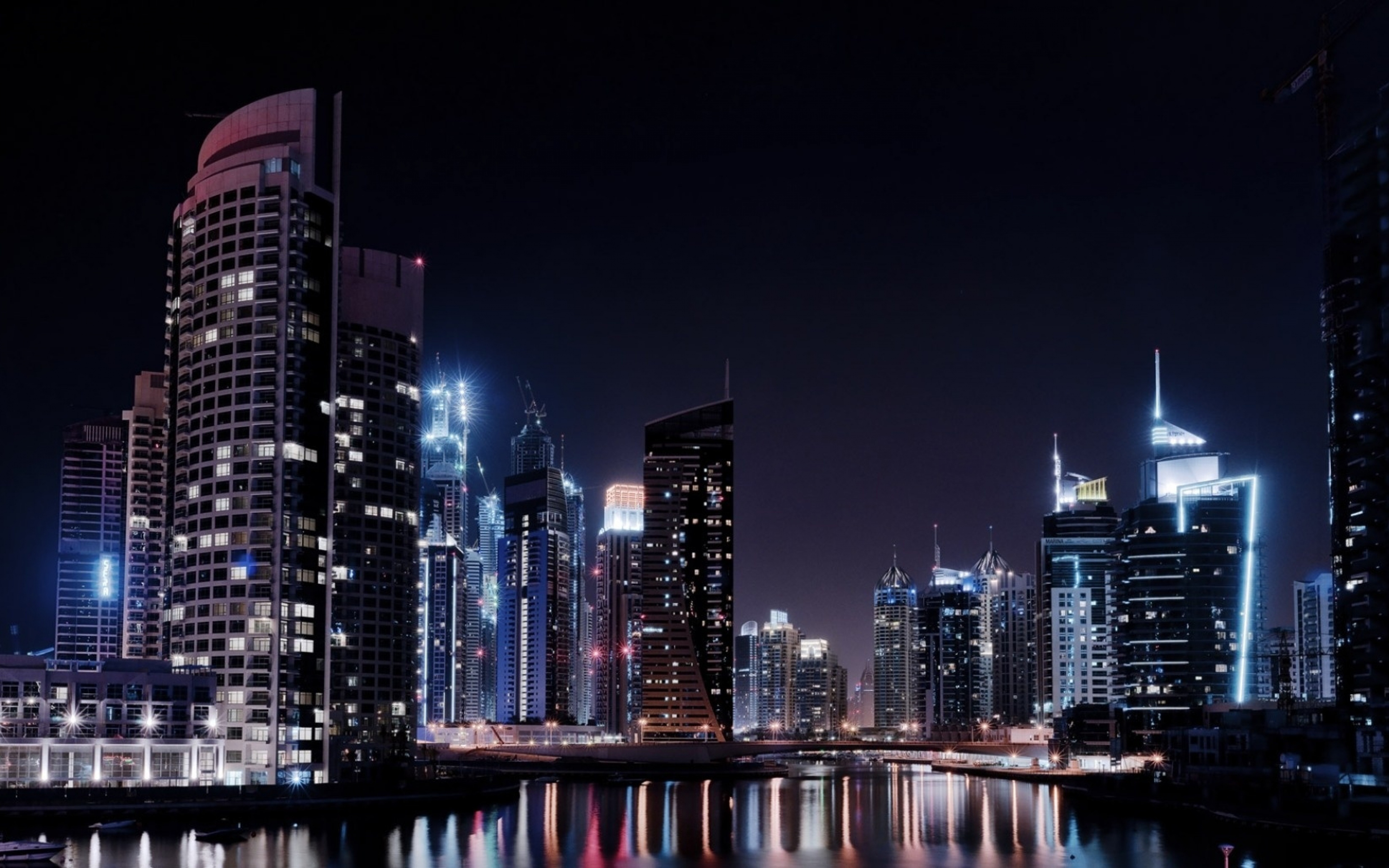 4k night city wallpapers high quality download free