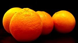 4K Orange Desktop Wallpaper Free