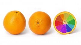 4K Orange Wallpaper For Desktop