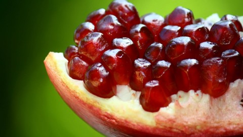 4K Pomegranate Fruit wallpapers high quality