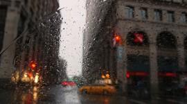 4K Rain Photo