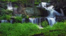 4K Waterfalls Desktop Wallpaper