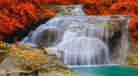4K Waterfalls Desktop Wallpaper Free