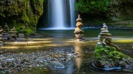 4K Waterfalls Wallpaper For IPhone